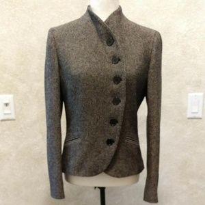 Lauren Ralph Lauren Tweed Wool Blazer Sz 6 NWOT